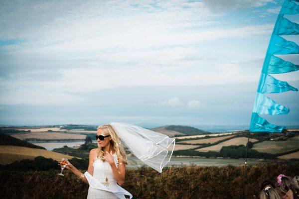 bride-in-field-in-cornwall